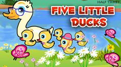 #FiveLittleDucks went out one day with their Mamma duck! :-) #nusrseryrhymes #kids