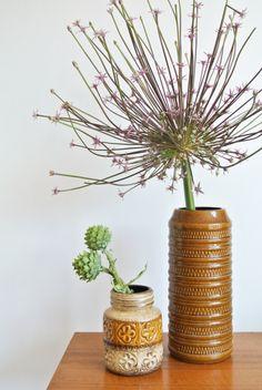 retro vaas / vintage vase / West German Pottery  https://entermyattic.com/shop/