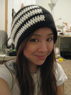 Soul Eater: Death the Kid Beanie Slouch (Pattern)