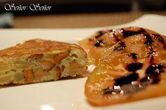 Tortilla de patatas con níscalos | Receta de Sergio