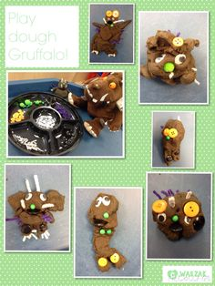I think these look amazing! Gruffalo Eyfs, Gruffalo Activities, Gruffalo Party, The Gruffalo, Preschool Activities, Early Education, Kids Education, Gruffalo's Child, Forest School Activities