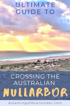 Plan your trip crossing the Nullarbor, Australia. Learn where to camp, get petrol, what to see and how much it costs. Coast Australia, South Australia, Western Australia, Moving To Australia, Australia Travel, Best Places To Travel, Places To See, Australian Photography, Plan Your Trip