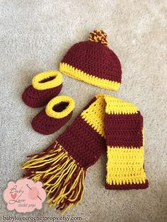 Harry Potter Gryffindor Baby Jacket/Sweater pattern by ...