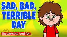 "♫ ""Sad, Bad Terrible Day"" is a fun way to musically encourage children to express their feelings and emotions. Children learn best through active participation. This song invites children to learn about their feelings through repetition and active participation. This feelings song is ideal for toddlers, preschool, kindergarten and elementary children."