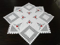 Hardanger Embroidery handmade from Germany