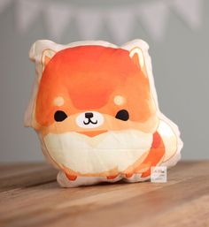 Pomeranian Pillow by thousandskies on Etsy, $25.00