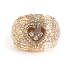 , You could build a whole outfit around this ring. It has a vaguely Moroccan feel to it. It