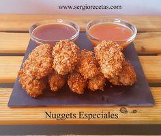 Receta de Nuggets de Sesos de Cordero.