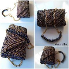 Nossa bolsa linda trabalhada manualmente para completar o seu look! 😍💙