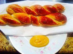 Homemade pretzel by maisah3, via Flickr