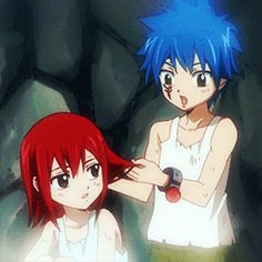 """""""Scarlet the color of your hair. Such beautiful scarlet hair. So I will never forget."""" Or something like that said by Jellal Fernandez."""