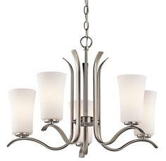 Kichler 5 light chandelier