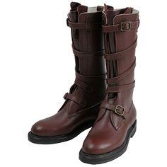 """Dehner """"Strap Tank Boot""""【Wine/Dragoon】#Dehner Boots"""