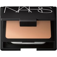 Nars Powder Foundation in Barcelona Medium Golden Yellow ($51) ❤ liked on Polyvore featuring beauty products, makeup, face makeup, foundation, spf foundation, spf powder brush, powder brush, sheer foundation and powder foundation brush