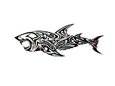 Tribal Shark Tattoos Designs And Ideas