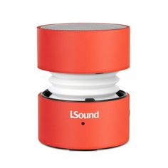 i.Sound Fire Waves Bluetooth Speaker - Red ISOUND-5318