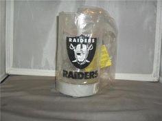 OAKLAND RAIDERS GLO MUG DRINKING STIEN NFL NEW