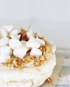 Чадейка - Торт-безе с кофейным кремом и грильяжем