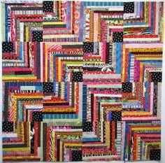 Exuberant Color: Decision made, I'm a zig zag..
