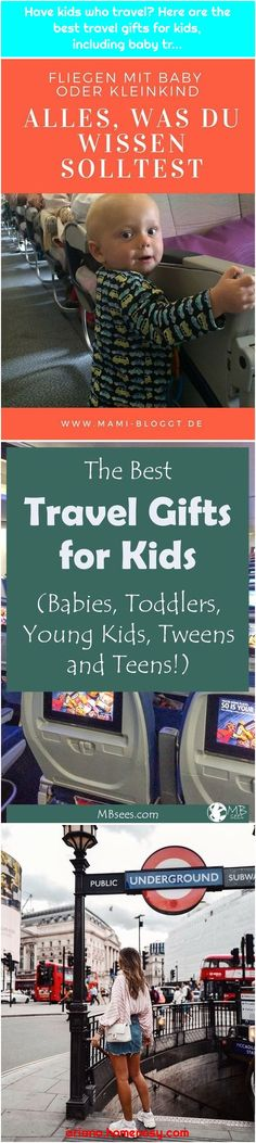 Flying with baby or toddler is exhausting?Have kids who travel? Here are the best travel gifts for kids, inclu. Tween Gifts, Parent Gifts, Gifts For Kids, Best Travel Gifts, Big Bucket, Baby Travel, Traveling With Baby, Food Gifts, Travel Tips