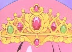 cute princess 80s pastel fairy kei crown my screencaps minky momo magical princess minky momo maigcal girl