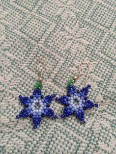 Beaded Earrings Patterns, Crochet Earrings, Beadwork, Beading, Beard Jewelry, Stud Earrings, Necklaces, Youtube, Crafts