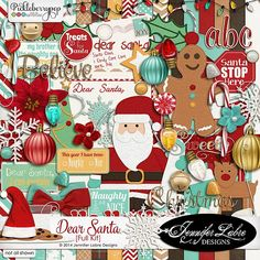 Deal of the Day! Dec. 5, 2015 ONLY! Dear Santa By Jennifer Labre Designs