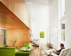 Living Room: Fairfield House by Webber + Studio #decor