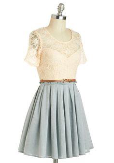 Sage Latte Dress | Mod Retro Vintage Dresses | ModCloth.com