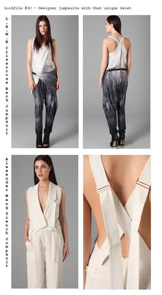 Lookfile  3 – SS2011 Jumpsuits   Rompers d0f5251fae6