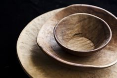 Wood bowls from Peru