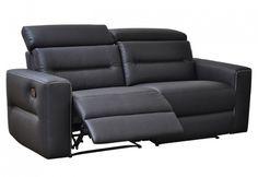 Sofás de 3 plazas con 2 reclinables manuales - Florac. A un buen precio y con unas buenas prestaciones!