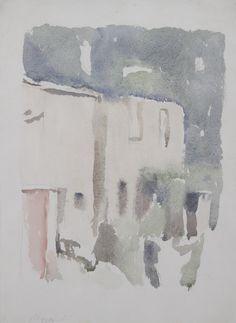 Giorgio Morandi, 'Paesaggio, Casa bruciata,' 1959, Thomas Colville Fine Art