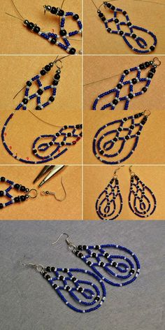 Beaded Earrings Native American Patterns #google