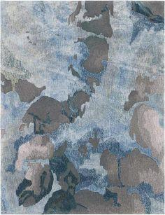 Prismatischer Teppich in Grau / Schiefer – Nourison Source by totallyfurniture Best Carpet, Diy Carpet, Wall Carpet, Modern Carpet, Rugs On Carpet, Plush Carpet, Carpet Decor, Stair Carpet, Bedroom Carpet