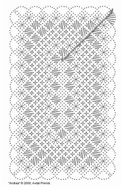 torchon bookmark free pattern | Bobbin Lace Free Patterns « Browse Patterns More