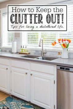 How to Keep Clutter Away #TriplePFeature