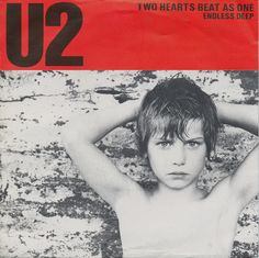 "U2 - Two Hearts Beat As One [1983, Island Records ‎- IS 109 │U.K.] - 7""/45 vinyl record"