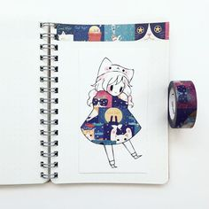accidently deleted omg fashion 10 i'm working on a little zine for these washi tape girls! does anyone know where to get those printed in toronto/canada? Beautiful Drawings, Cute Drawings, Character Art, Character Design, Illustration Art, Illustrations, Tape Art, Leprechaun, Cool Artwork