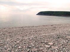 Ingonish Beach, Cape Breton, Nova Scotia, Canada;    where I realized that I have never smelled air more sweet.