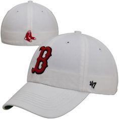 '47 Boston Red Sox White Franchise Fitted Hat