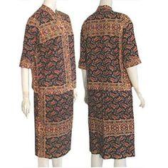 1960s Rare Vintage Lila Bath Original Beaded Dress Suit Mexican