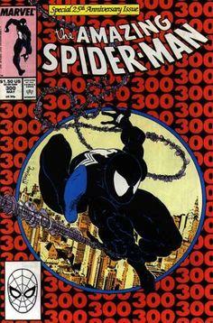 Amazing Spider-Man Vol 1 # 300 :: Portada por Todd McFarlane [El Hombre Araña se enfrenta por primera vez a Venom]