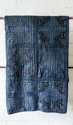 Overdyed Patchwork Quilt #5 by Sharktooth