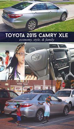 Toyota 2015 Camry XLE: Economy, Style, & Family via @sheenatatum
