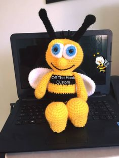 Tweety, Bee, Fictional Characters, Amigurumi, Honey Bees, Bees