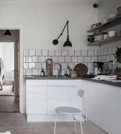 Small and simple home - Styled by Emma Fisher, photography by Alen Cordic SE360 via Bjurfors