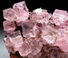fluorita rosa