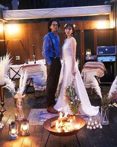 グランピングフォトウェディング&藤乃スイートステイプランの撮影イメージ Lace Wedding, Wedding Dresses, Glamping, Fashion, Bride Dresses, Moda, Bridal Gowns, Fashion Styles, Weeding Dresses