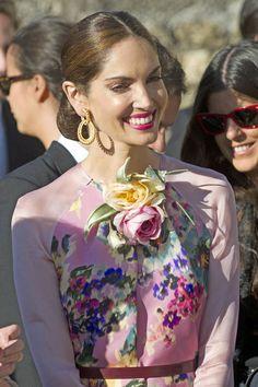 Eugenia Silva en la boda de Mafalda y Gonzalo #bodas #famosos
